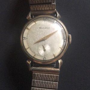 Vintage 10k gold filled Bulova watch